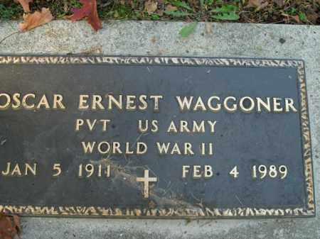 WAGGONER  (VETERAN WWII), OSCAR ERNEST - Boone County, Arkansas | OSCAR ERNEST WAGGONER  (VETERAN WWII) - Arkansas Gravestone Photos