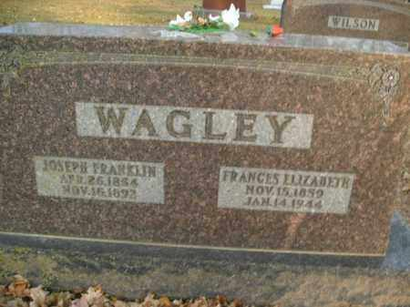 WAGLEY, FRANCES ELIZABETH - Boone County, Arkansas | FRANCES ELIZABETH WAGLEY - Arkansas Gravestone Photos