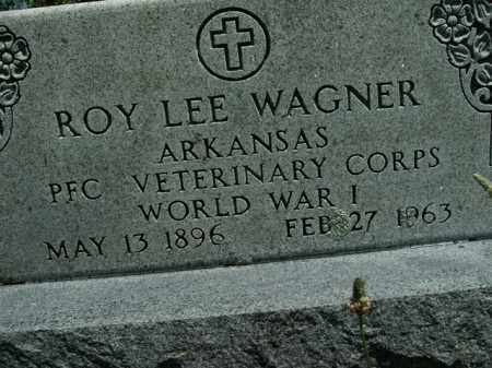 WAGNER  (VETERAN WWI), ROY LEE - Boone County, Arkansas | ROY LEE WAGNER  (VETERAN WWI) - Arkansas Gravestone Photos