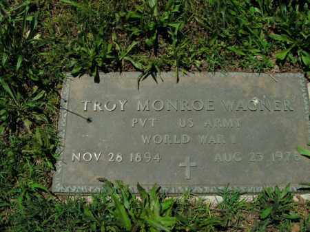 WAGNER  (VETERAN WWI), TROY MONROE - Boone County, Arkansas | TROY MONROE WAGNER  (VETERAN WWI) - Arkansas Gravestone Photos