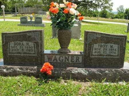WAGNER, DORA H. - Boone County, Arkansas | DORA H. WAGNER - Arkansas Gravestone Photos