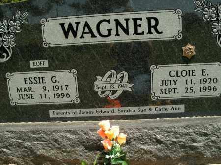 WAGNER, CLOIE E. - Boone County, Arkansas | CLOIE E. WAGNER - Arkansas Gravestone Photos