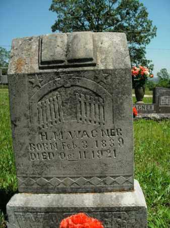 WAGNER   (VETERAN CSA), HENRY MONROE - Boone County, Arkansas | HENRY MONROE WAGNER   (VETERAN CSA) - Arkansas Gravestone Photos