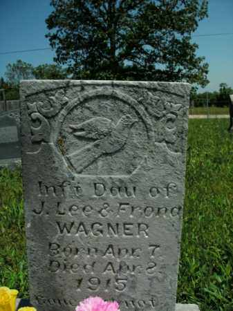 WAGNER, INFANT DAUGHTER - Boone County, Arkansas | INFANT DAUGHTER WAGNER - Arkansas Gravestone Photos
