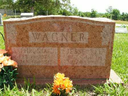 PILLOW WAGNER, SAPHRONIA J. - Boone County, Arkansas | SAPHRONIA J. PILLOW WAGNER - Arkansas Gravestone Photos