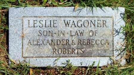 WAGONER, LESLIE - Boone County, Arkansas | LESLIE WAGONER - Arkansas Gravestone Photos