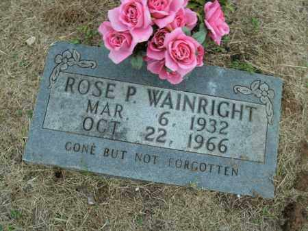 WAINRIGHT, ROSE P. - Boone County, Arkansas | ROSE P. WAINRIGHT - Arkansas Gravestone Photos
