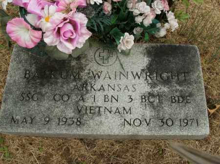 WAINWRIGHT  (VETERAN VIET), BASKUM - Boone County, Arkansas | BASKUM WAINWRIGHT  (VETERAN VIET) - Arkansas Gravestone Photos