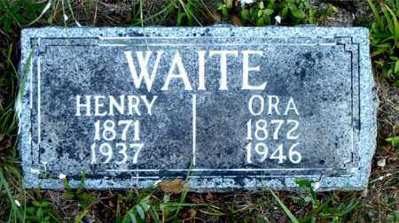 WAITE, HENRY - Boone County, Arkansas | HENRY WAITE - Arkansas Gravestone Photos