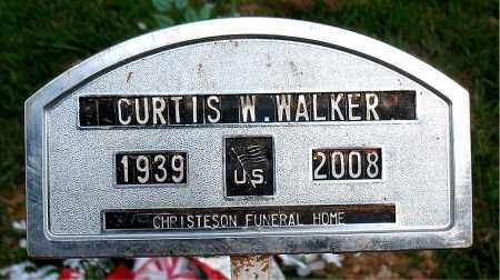 WALKER, CURTIS W - Boone County, Arkansas | CURTIS W WALKER - Arkansas Gravestone Photos