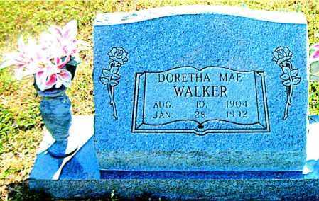 WALKER, DORETHA  MAE - Boone County, Arkansas | DORETHA  MAE WALKER - Arkansas Gravestone Photos