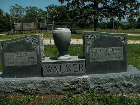 WALKER, ZELDA - Boone County, Arkansas   ZELDA WALKER - Arkansas Gravestone Photos
