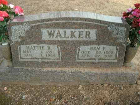 WALKER, BEN F. - Boone County, Arkansas | BEN F. WALKER - Arkansas Gravestone Photos