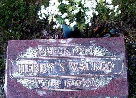 WALKER, HENRY S. - Boone County, Arkansas | HENRY S. WALKER - Arkansas Gravestone Photos