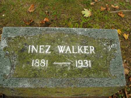 WALKER, LAURA INEZ - Boone County, Arkansas | LAURA INEZ WALKER - Arkansas Gravestone Photos