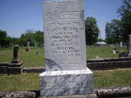 WALKER, MARGARATE - Boone County, Arkansas | MARGARATE WALKER - Arkansas Gravestone Photos
