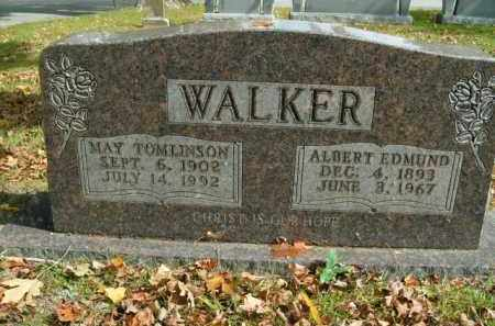 WALKER, MAY - Boone County, Arkansas | MAY WALKER - Arkansas Gravestone Photos