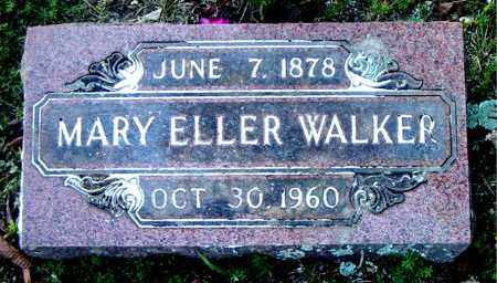 WALKER, MARY ELLER - Boone County, Arkansas | MARY ELLER WALKER - Arkansas Gravestone Photos