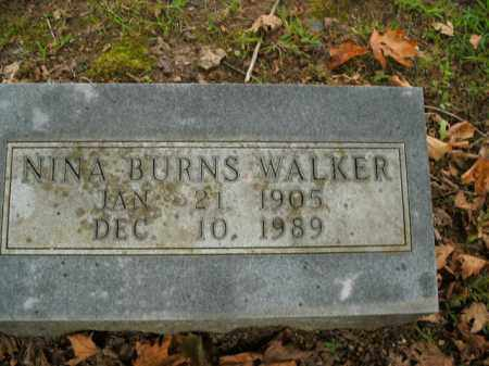 BURNS WALKER, NINA - Boone County, Arkansas | NINA BURNS WALKER - Arkansas Gravestone Photos