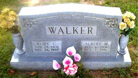 WALKER, ALBERT  M. - Boone County, Arkansas | ALBERT  M. WALKER - Arkansas Gravestone Photos