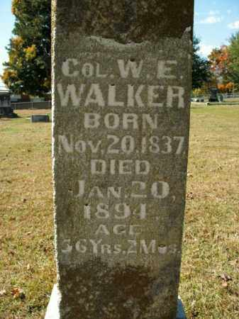 WALKER, W.E. - Boone County, Arkansas | W.E. WALKER - Arkansas Gravestone Photos