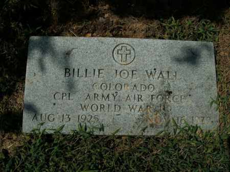 WALL  (VETERAN WWII), BILLIE JOE - Boone County, Arkansas | BILLIE JOE WALL  (VETERAN WWII) - Arkansas Gravestone Photos