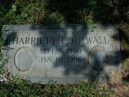 WALL, HARRIETT LOU - Boone County, Arkansas | HARRIETT LOU WALL - Arkansas Gravestone Photos