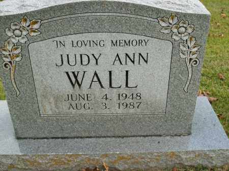 WALL, JUDY ANN - Boone County, Arkansas | JUDY ANN WALL - Arkansas Gravestone Photos