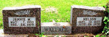 WALLACE, JENNIE M - Boone County, Arkansas | JENNIE M WALLACE - Arkansas Gravestone Photos