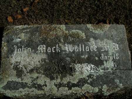 WALLACE, JOHN MACK, MD - Boone County, Arkansas | JOHN MACK, MD WALLACE - Arkansas Gravestone Photos