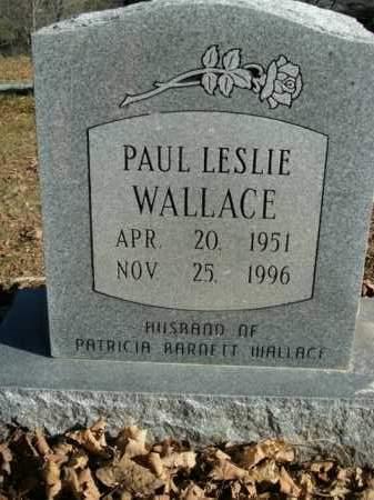 WALLACE, PAUL LESLIE - Boone County, Arkansas | PAUL LESLIE WALLACE - Arkansas Gravestone Photos