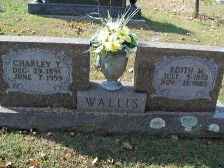 WALLIS, CHARLEY T. - Boone County, Arkansas | CHARLEY T. WALLIS - Arkansas Gravestone Photos