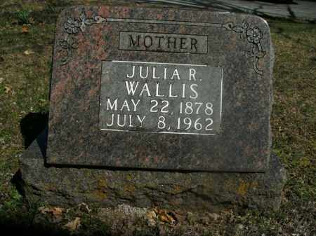 WALLIS, JULIA R. - Boone County, Arkansas | JULIA R. WALLIS - Arkansas Gravestone Photos