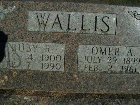 WALLIS, OMER AUGUSTUS - Boone County, Arkansas | OMER AUGUSTUS WALLIS - Arkansas Gravestone Photos