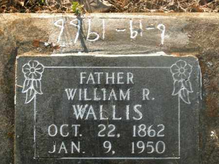 WALLIS, WILLIAM R. - Boone County, Arkansas | WILLIAM R. WALLIS - Arkansas Gravestone Photos