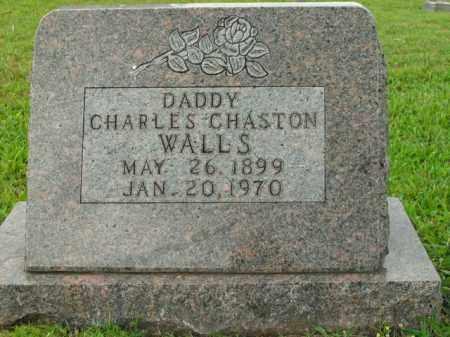 WALLS, CHARLES CHASTON - Boone County, Arkansas | CHARLES CHASTON WALLS - Arkansas Gravestone Photos