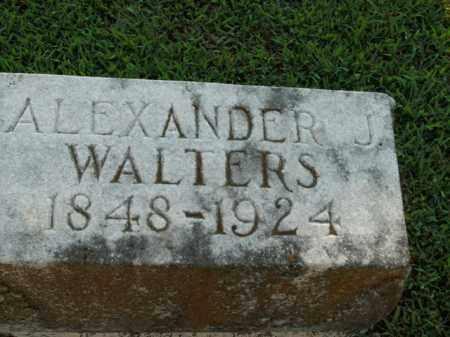 WALTERS, ALEXANDER J. - Boone County, Arkansas | ALEXANDER J. WALTERS - Arkansas Gravestone Photos