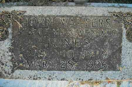 JONES, JOHN WALTERS - Boone County, Arkansas | JOHN WALTERS JONES - Arkansas Gravestone Photos
