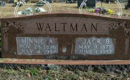 WALTMAN, MINNIE A. - Boone County, Arkansas | MINNIE A. WALTMAN - Arkansas Gravestone Photos