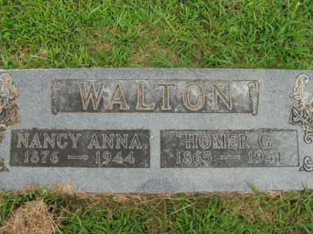 WALTON, NANCY ANNA - Boone County, Arkansas | NANCY ANNA WALTON - Arkansas Gravestone Photos