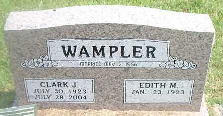 WAMPLER, CLARK J. - Boone County, Arkansas | CLARK J. WAMPLER - Arkansas Gravestone Photos