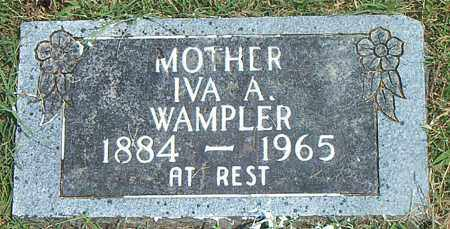 WAMPLER, IVA A. - Boone County, Arkansas | IVA A. WAMPLER - Arkansas Gravestone Photos