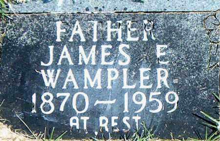 WAMPLER, JAMES  E. - Boone County, Arkansas | JAMES  E. WAMPLER - Arkansas Gravestone Photos