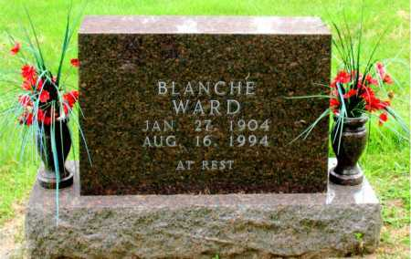 WARD, BLANCHE - Boone County, Arkansas | BLANCHE WARD - Arkansas Gravestone Photos