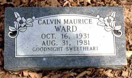 WARD, CALVIN MAURICE - Boone County, Arkansas | CALVIN MAURICE WARD - Arkansas Gravestone Photos