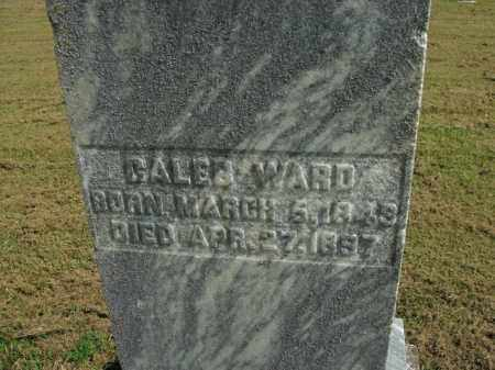 WARD, CALEB - Boone County, Arkansas | CALEB WARD - Arkansas Gravestone Photos