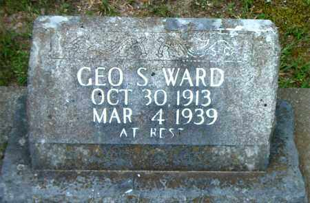 WARD, GEORGE  S. - Boone County, Arkansas | GEORGE  S. WARD - Arkansas Gravestone Photos