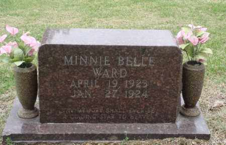 WARD, MINNIE BELLE - Boone County, Arkansas | MINNIE BELLE WARD - Arkansas Gravestone Photos