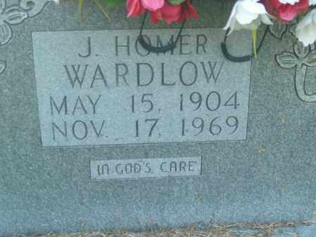 WARDLOW, J. HOMER - Boone County, Arkansas | J. HOMER WARDLOW - Arkansas Gravestone Photos