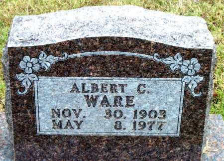 WARE, ALBERT C - Boone County, Arkansas | ALBERT C WARE - Arkansas Gravestone Photos